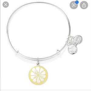 Alex and Ani Yellow Lemon Bracelet